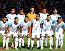 La Selección de Guatemala jugará la eliminatoria mundialista rumbo a Qatar 2022. (Foto Prensa Libre: Hemeroteca PL)