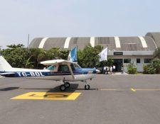 Al día hay alrededor de 50 vuelos domésticos privados, según el director de al DGAC. (Foto, Prensa Libre: Hemeroteca PL).