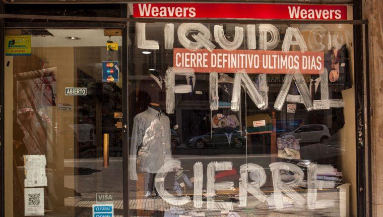 Miles de emprendimientos como este ya habían cerrado en los últimos dos años, en medio de una severa recesión.