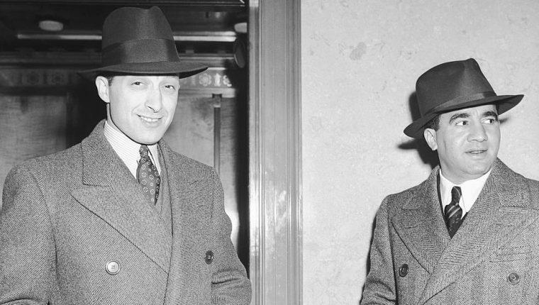 Abe Reles (a la derecha) fundó la banda que posteriormente se convirtió en el brazo asesino de la mafia neoyorquina.