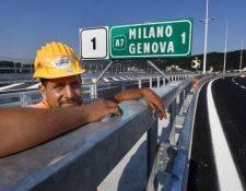 El nuevo puente cuenta con la última tecnología.