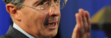 Álvaro Uribe, expresidente colombiano. (Foto: AFP)