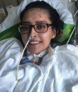 Mayra Ramírez fue la primera persona hasta donde se conoce en ser sometida a un trasplante doble de pulmón en EE.UU. tras enfermarse de coronavirus.