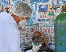 Diferentes centros de salud en Bolivia reportan que se les acaba el oxígeno.