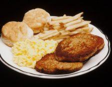 La última comida de Clydell Coleman, ejecutado el 5 de mayo de 1999.