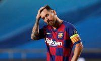 Lionel Messi no pudo mostrar su mejor fútbol.