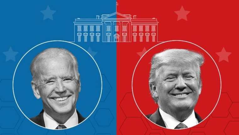 Joe Biden (izquierda) y Donald Trump son considerados los protagonistas de la elección estadounidense de este año.