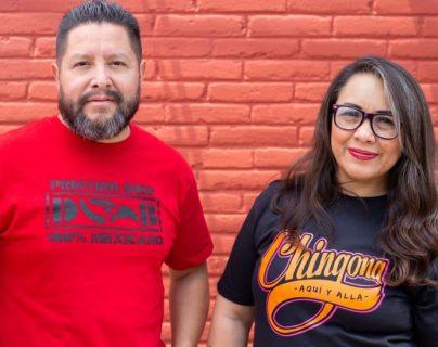 Ana Laura fundó la empresa Deportados Brand junto a Gustavo Lavariega, quien ahora está aprendiendo diseño. ANA LAURA LÓPEZ
