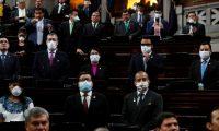 Congreso anuncia que reanudará sesiones guardando las medidas de prevención del covid-19. (Foto Prensa Libre: Hemeroteca PL)