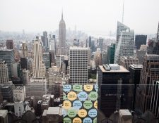 Nueva York es el estado que más muertos a causa del coronavirus registra en Estados Unidos. (Foto Prensa Libre: EFE)