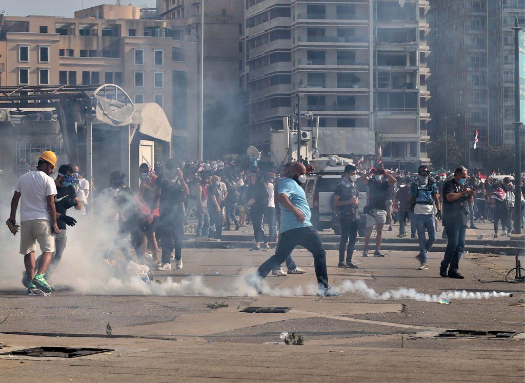 Beirut: manifestantes toman por asalto el Ministerio de Relaciones Exteriores