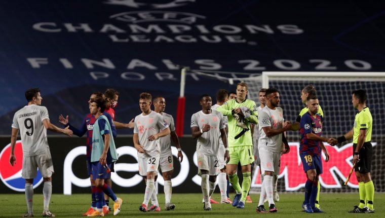Bayern aplasta 8-2 al Barcelona en los cuartos de final de la ...