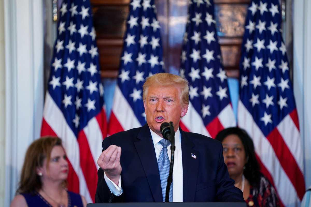 Donald Trump le responde a Michelle Obama que él no estaría en la Casa Blanca, sino fuese por lo que hizo su esposo