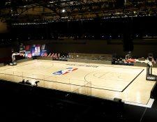 Los partidos de la NBA de este miércoles fueron suspendidos. (Foto Prensa Libre: EFE)