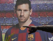 La historia de Lionel Messi y su salida del Barcelona continúa. (Foto Prensa Libre: EFE)