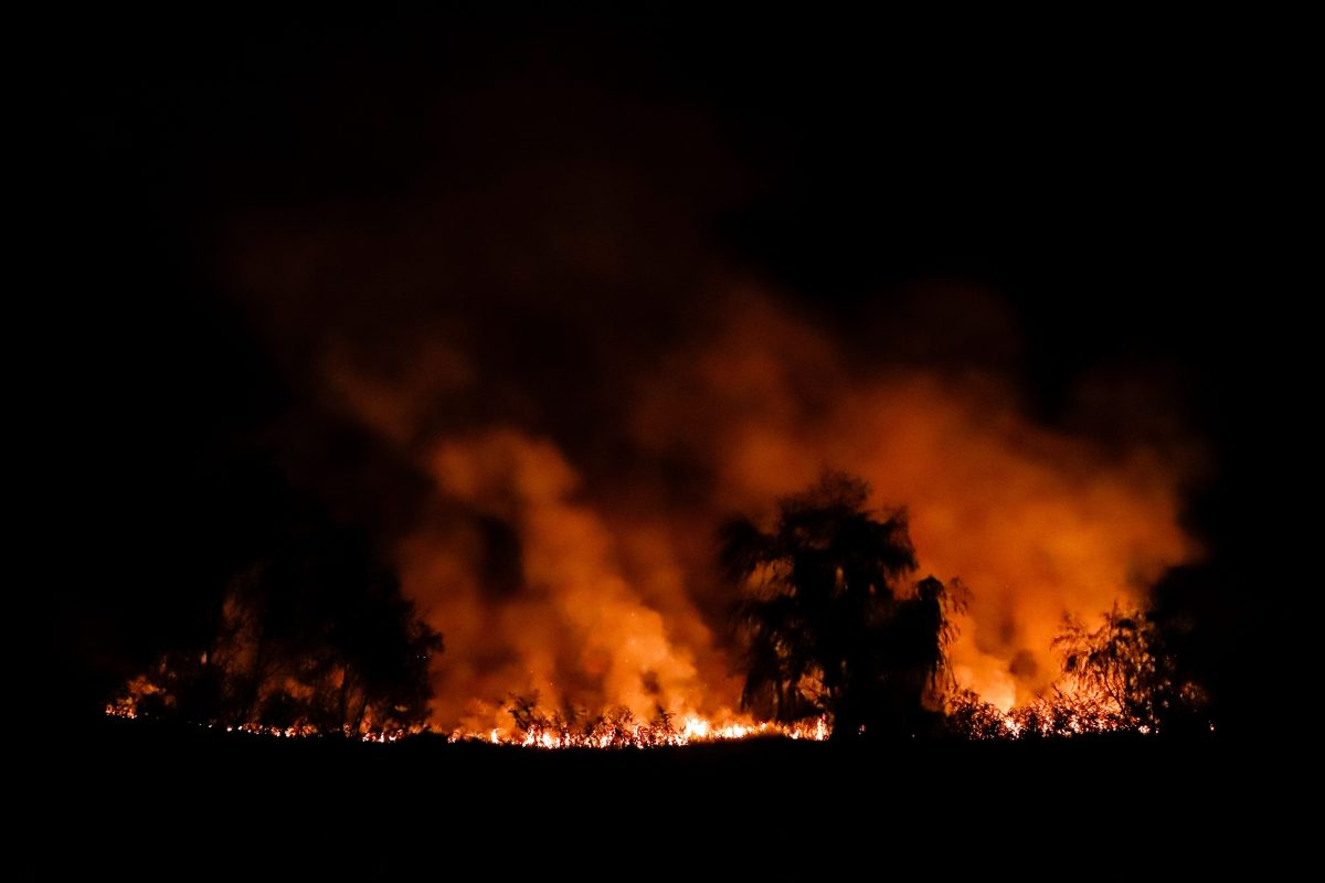En Asunción los pobladores se asfixian entre el humo de los incendios en el río Paraguay