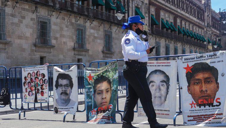 La Oficina en México del Alto Comisionado de las Naciones Unidas para los Derechos Humanos (ONU-DH) instó este domingo al Senado mexicano a aprobar la iniciativa por la cual Naciones Unidas tendrá el aval para investigar las desapariciones en el país latinoamericano. (Foto Prensa Libre: EFE)
