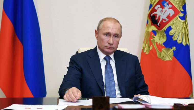 Presidente ruso Vladimir Putin. (Foto Prensa Libre: Hemeroteca PL)