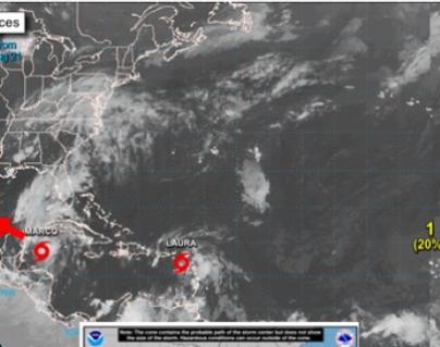 """Tormenta tropical """"Marco"""" traerá más lluvias al país"""
