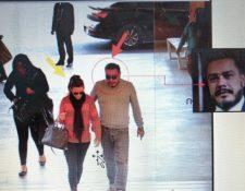 Daniela Beltranena se reunió con el diputado Javier Hernández en un centro comercial. (Foto Prensa Libre: Cortesía Feci)