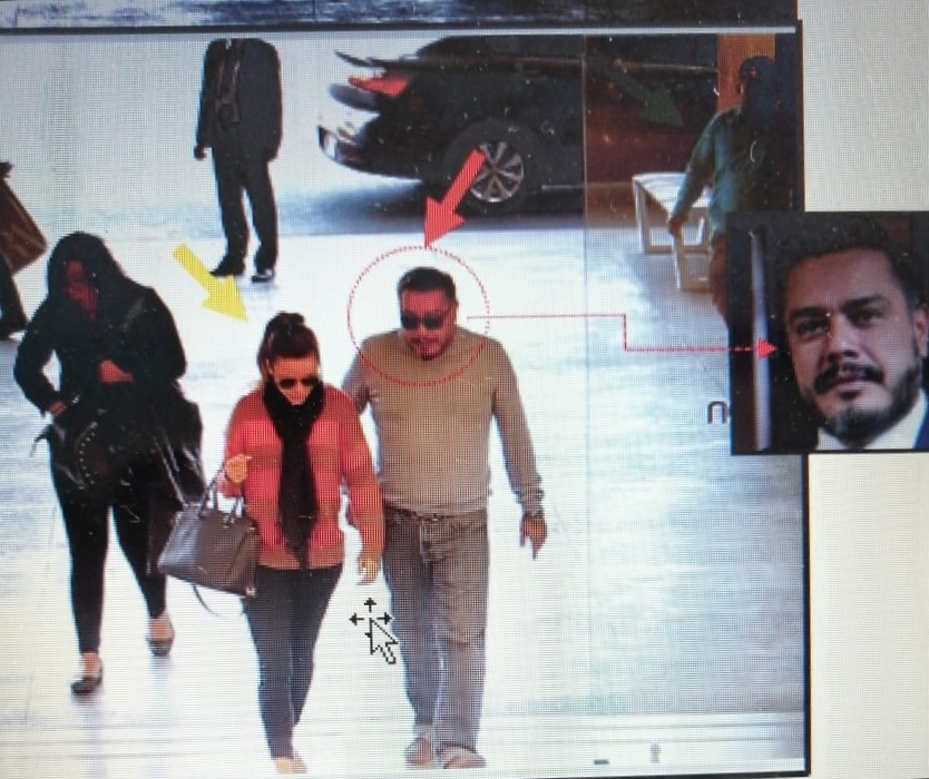 En pleno arresto domiciliario, Daniela Beltranena se reúne con el diputado Javier Hernández