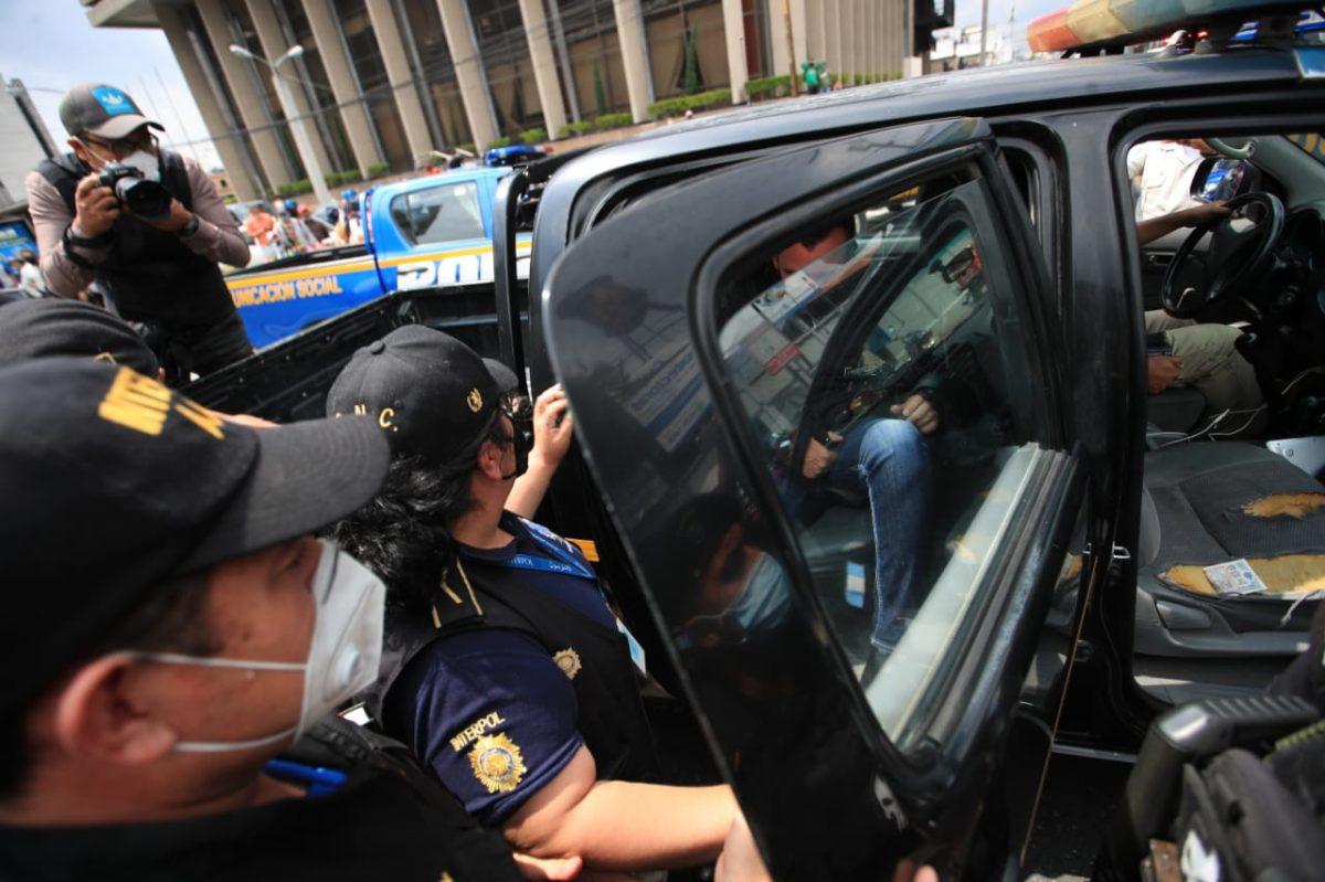 Se entrega Alejandro Sinibaldi, sindicado de actos de corrupción y prófugo desde el 2016