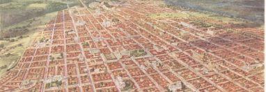 La ciudad de Guatemala ha crecido y se hace indispensable pensar en nuevos ingresos y otras salidas del municipio. (Foto Prensa Libre: Hemeroteca)