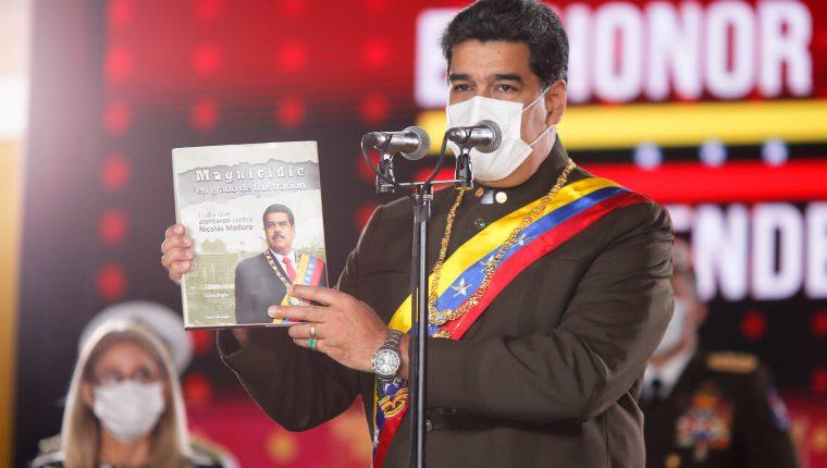 Nicolás Maduro, presidente de Venezuela. (Foto Prensa Libre: AFP)