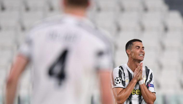 Cristiano Ronaldo quedará en 2020 fuera de la batalla final por la Champions. (Foto Prensa Libre: AFP)