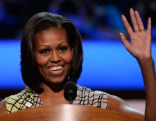 Michele Obama abrió la primera convención demócrata de EE. UU. (Foto de archivo: AFP)