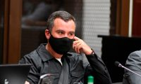 Alejandro Sinibald, exministro de Comunicaciones detenido por casos de corrupción. (Foto Prensa Libre: Hemeroteca PL)
