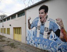 Messi volverá a ser el estandarte de la Selección Argentina tras la convocatoria de Scaloni. (Foto Prensa Libre: AFP)