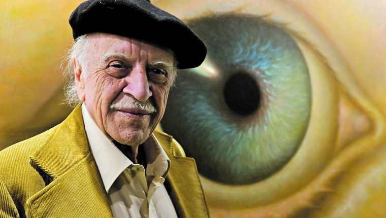 El artista visual Rodolfo Abularach falleció a los 87 años. (Foto Prensa Libre: Erick  Avila).