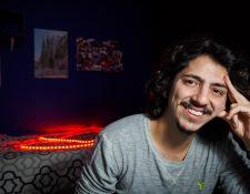 """El artista guatemalteco Alejandro Sago regresa a la escena musical con su sencillo """"Mi Pecado"""". (Foto Prensa Libre: cortesía Alejandro Sago)."""
