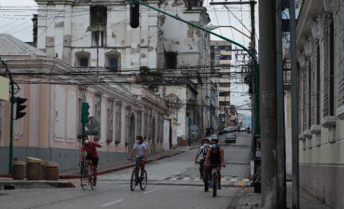 Guatemala aún permanecen con restricciones por los contagios de coronavirus. (Foto Prensa Libre: Esbin García)