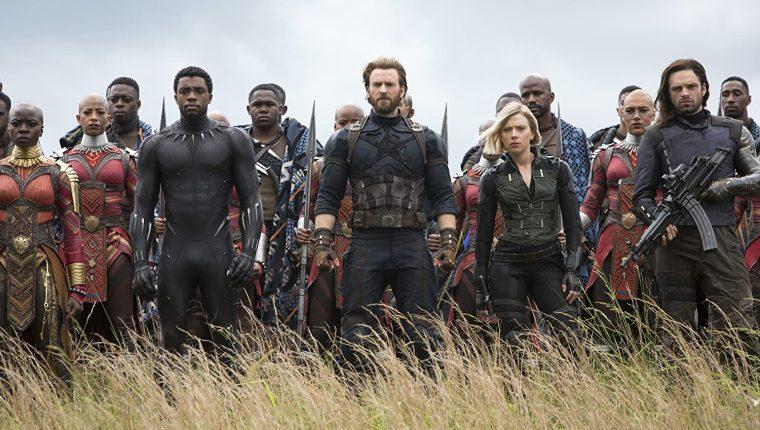 """Chadwick Boseman, en su papel de """"Black Panther"""", participó en la película """"Vengadores: Infinity War"""". (Foto Prensa Libre. IMDB)."""