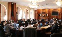 Vista de la sesión de la CSJ de este 12 de agosto. (Foto Prensa Libre: OJ)