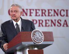 Andrés Manuel López Obrador aseguró que la vacuna contra el coronavirus estará al alcance de todos los mexicanos. (Foto Prensa Libre: EFE)