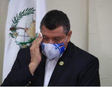 El vicepresidente de la República de Guatemala, Guillermo Castillo. (Foto Prensa Libre: Carlos Hernández)