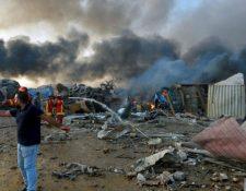 Una explosión en el puerto de Beirut dejó decenas de víctimas el 4 de agosto del 2020. (Foto Prensa Libre: Forbes)