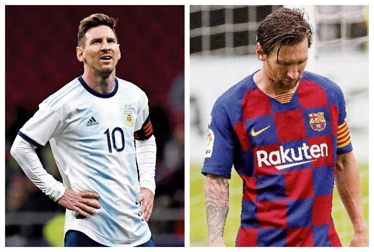 Messi llega al nivel de hartazgo vivido con Argentina