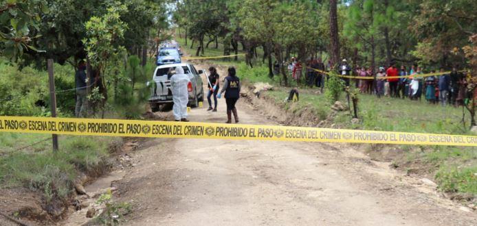 Lugar donde murió baleado el ciudadano francés Benoit Pierre Amedee Maria. (Foto Prensa Libre: Héctor Cordero)