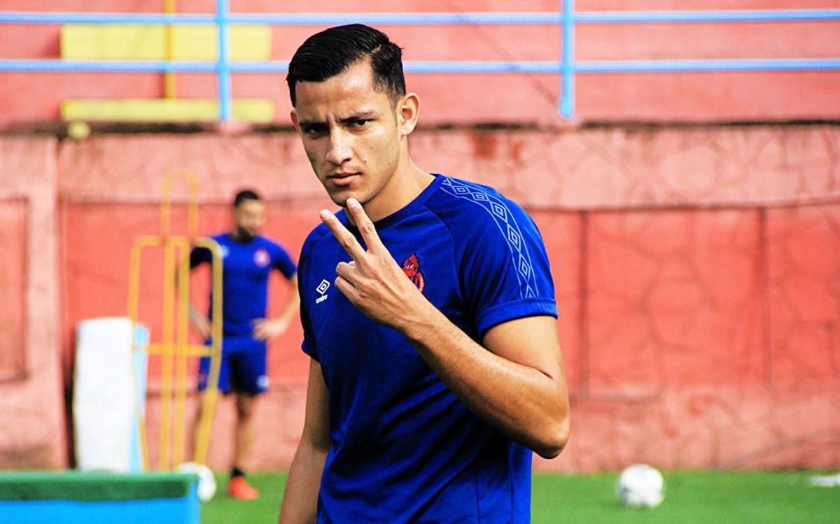 'El Flaco' Martínez asegura que dejó la lesión atrás y está motivado para dar lo mejor con Municipal en el Apertura 2020