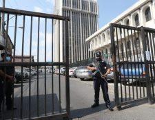 Edificio de la Corte Suprema de Justicia. (Foto Prensa Libre: Hemeroteca PL)