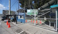 El Ministerio de cultura y deportes mantiene cerradas sus instalaciones debido a la pandemia del coronavirus las instalaciones ubicadas en el Barrio Gerona las instalaciones se observan solas sin personas que lleguen a utilizar  las canchas.   Fotograf'a. Erick Avila:                       25/08/2020
