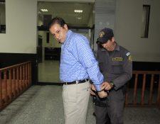 Roberto Barrera era el principal sospechoso de la desaparición de Cristina Siekavizza, su esposa. (Foto: Hemeroteca PL)  Fotograf'a: Paulo Raquec