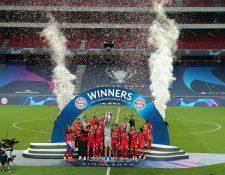 El Bayern sumó su sexta Liga de Campeones de la Uefa al superar 1-0 al Paris SG. Foto Prensa Libre: EFE