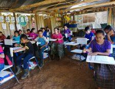 Jóvenes del área rural que deseen continuar sus estudios en una carrera técnica o tecnológica podrán optar a una beca del Mineduc. (Foto Prensa Libre: Hemeroteca)