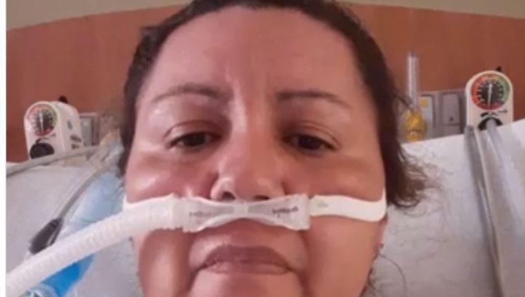 Sara Montoya murió por coronavirus. (Foto Prensa Libre: Tomada del video de Facebook)