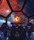 """""""Star Wars Squadrons"""" se comanda desde la cabina. Foto Prensa Libre: DPA"""